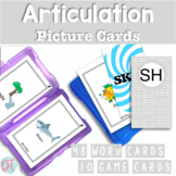 Articulation Picture Cards for SH