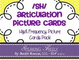SH Articulation Cards: High Frequency Picture Cards Pack!