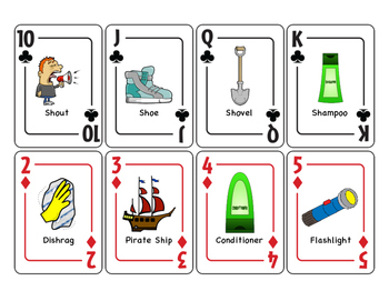 SH Articulation Playing Cards