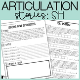 SH Articulation Stories with Language Component