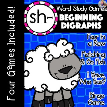 SH Beginning Digraph [[Word Family GAMES!]]
