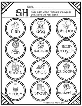 SH Digraph: Highlight A Word