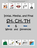 SH, CH, TH: Words and Sentences