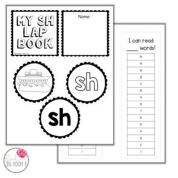 SH - Digraph Lapbook