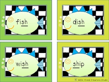 SH Digraph Practice with Fish