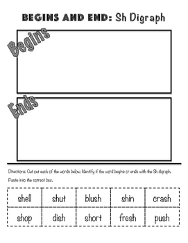 SH Digraph Sample Phonics Pack