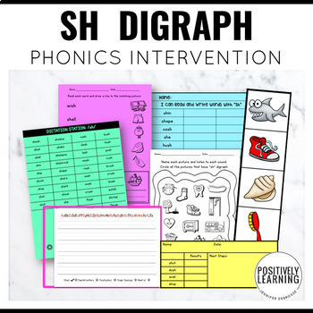 Phonics Intervention Games SH Digraph Sushi