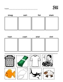 SH Digraph Worksheet