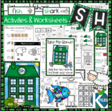 SH Digraph Worksheets and Activities Set