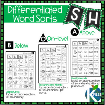 SH Digraph Worksheets and Activities Set