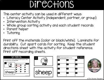 SH Literacy Center Activity
