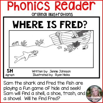SH Phonics Reader- Where is Fred?