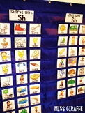 SH Digraph Activities with Pictures Pocket Chart Centers and Materials