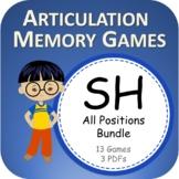 SH PowerPoint Memory Games Bundle - Articulation - Digital