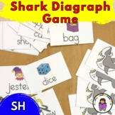 SH  Digraph Game - SHARK!! - Fun game to teach SH Sound Digraph.