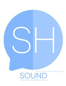 SH Sound Printable Flashcards