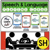 SH - Speech & Language Playing Cards