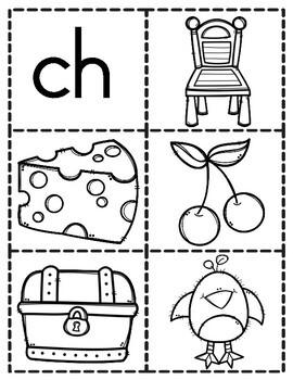 Digraph Pocket Chart Sort- SH, WH, CH, TH