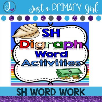 SH Word Family Word Work