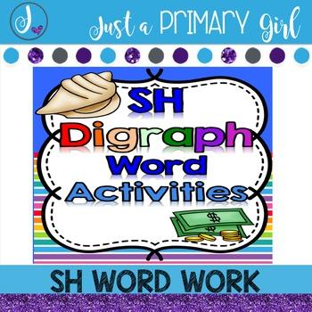 SH Word Family Word Work