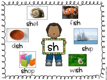 SH and CH Digraph Word Work!