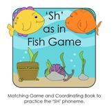 "Phonics: ""SH"" sound - Digraph Game and Word Book"