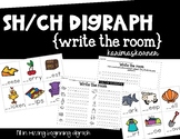 SH or CH beginning digraph write the room