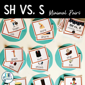 SH vs. S Minimal Pairs Flashcards