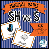 SH vs. S Minimal Pairs Flashcards