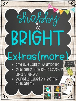 SHABBY BRIGHT EXTRA ADD ONS