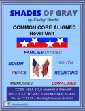 SHADES OF GRAY Novel Study Unit: Common Core Aligned