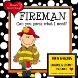 Fire Safety Community Helper Fireman