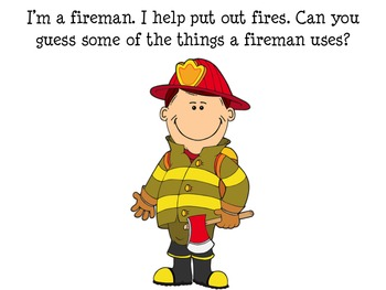 Fire Safety Community Helper Fireman