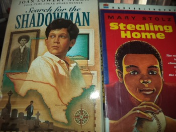 SHADOWMAN (2 Books)  STEALING HOME (1 Book)
