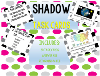 SHADOWS Task Cards