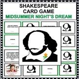 "SHAKESPEARE CARD GAMES ""MIDSUMMER NIGHT'S DREAM"""