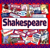 SHAKESPEARE - LITERACY ENGLISH MACBETH ROMEO JULIET MIDSUMMER NIG
