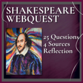 SHAKESPEARE WEBQUEST - Theatre History