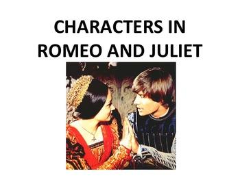 romeo character traits