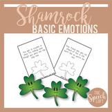 SHAMROCK BASIC EMOTIONS | ST. PATRICK'S DAY LANGUAGE ACTIVITY|