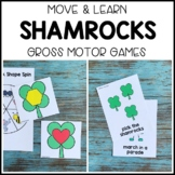 SHAMROCKS ☘️ Move & Learn Gross Motor Games - Preschool, P