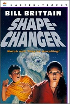SHAPE-CHANGER by Bill Brittain, A Kids Wings Out-of-this-World Adventure