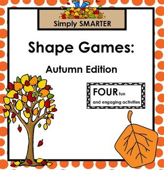 SHAPE GAMES:  Autumn Edition