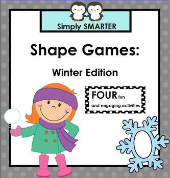 SMARTBOARD SHAPE GAMES:  Winter Edition