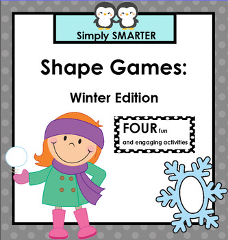 SHAPE GAMES:  Winter Edition
