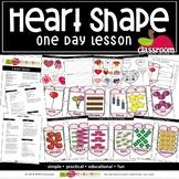 SHAPE: HEART Preschool PreK Kindergarten 1-Day Lesson Plan
