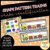 SHAPE Pattern Trains (All Basic Shapes)