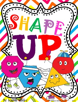 SHAPE UP  POSTERS BACK TO SCHOOL