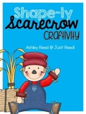 Shape Scarecrow Craft | FREE