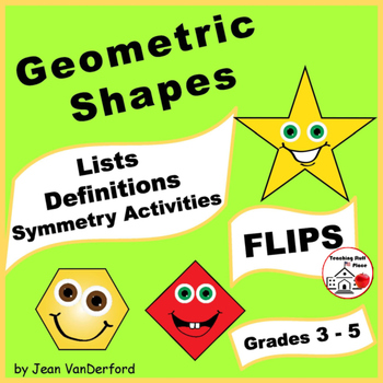 GEOMETRIC SHAPES | 2D & 3D Interactive | Symmetry | Math